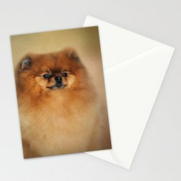Proud Pomeranian Stationery Cards