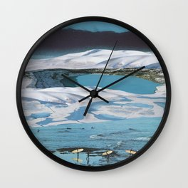 Arctic Aquamarine Wall Clock