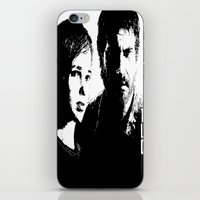 the last of us iPhone & iPod Skins featuring The Last of Us  by Black And White Store