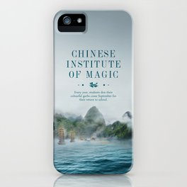 Wizarding Schools Around the World: China iPhone Case