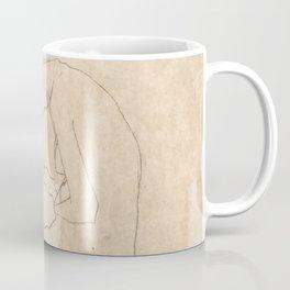 "Egon Schiele ""Lovers"" Coffee Mug"