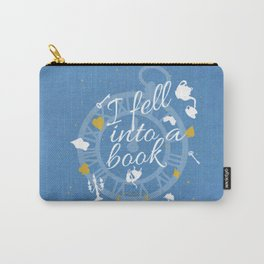 I Fell Into A Book Carry-All Pouch