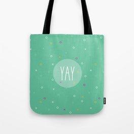 YAY Noughts + Crosses Tote Bag