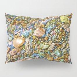 Baptism River Rocks Pillow Sham