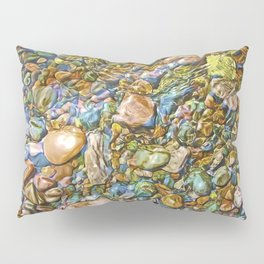 Baptism River Rocks Pillow Sham