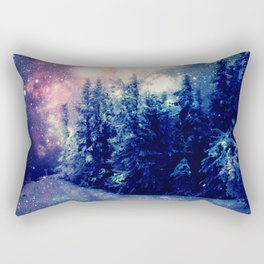 Galaxy Forest : Deep Pastels Rectangular Pillow