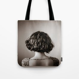 look away. Tote Bag