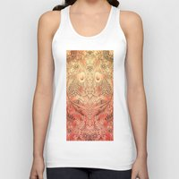 koi Tank Tops featuring koi by Monty