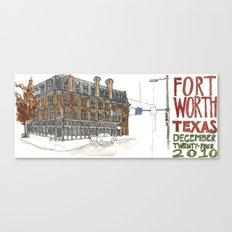 Fort Worth Canvas Print