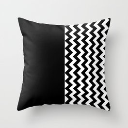 DESIGN (BLACK-WHITE) Throw Pillow