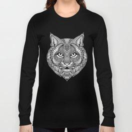 Bobcat - Black & White Long Sleeve T-shirt