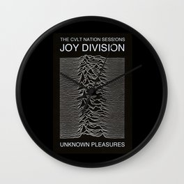 Joy Division Unknown Pleasures Shes Lost Control 1979 Wall Clock