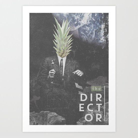 The Director Art Print