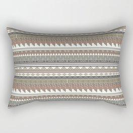 Tribal clay Rectangular Pillow