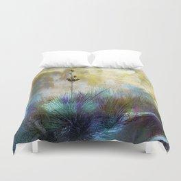 Painted Desertscape Duvet Cover