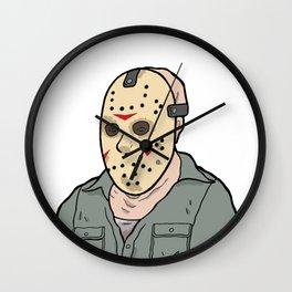 Jason Voorhees part 3 Wall Clock