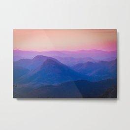colorful landscape #society6 #decor #buyart Metal Print