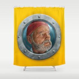Steve Zissou Shower Curtain