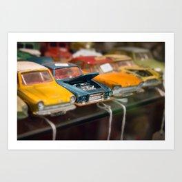 Car Trouble Art Print