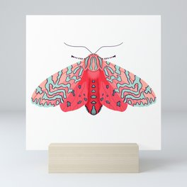Pink Moth Mini Art Print
