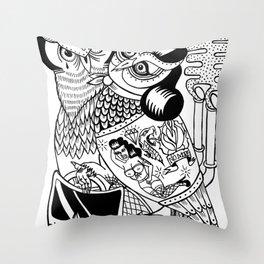 panic for love Throw Pillow