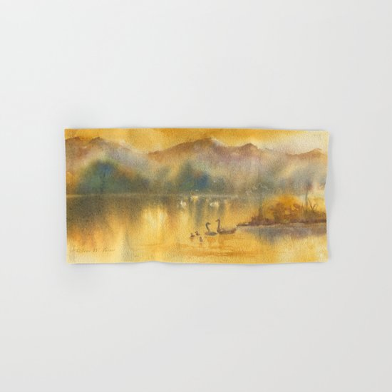 Golden Sunrise Hand & Bath Towel