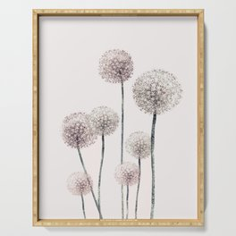 Dandelions Serving Tray