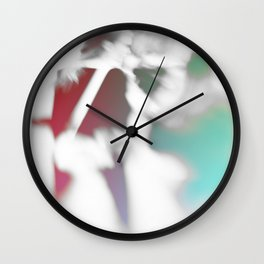 Street walking Wall Clock