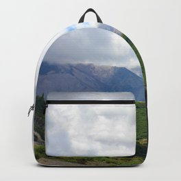 Saint Under The Clouded Sky Backpack