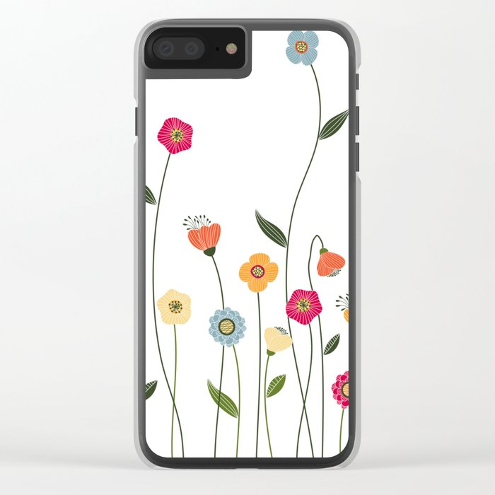 A Walk in the Countryside Clear iPhone Case