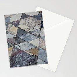 floor post volcano Stationery Cards