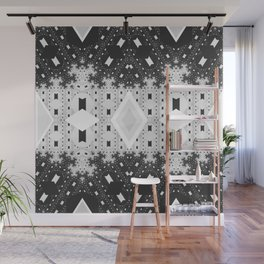 Indienous Fractal Wall Mural