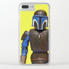 ROLE MODEL FETT Clear iPhone Case