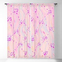 Barbie Pastel Blackout Curtain
