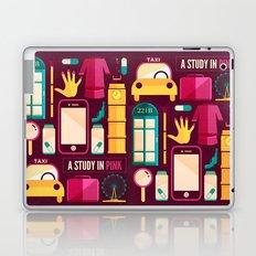 Study in Pink Laptop & iPad Skin