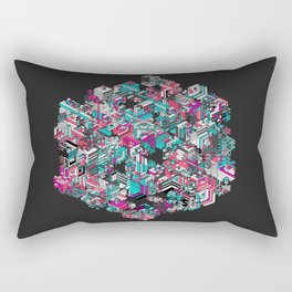Qbert Rectangular Pillow