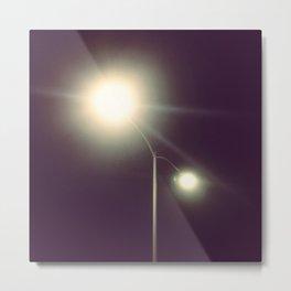 Night light Metal Print