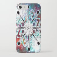 snowflake iPhone & iPod Cases featuring Snowflake by Sarah Maurer