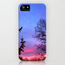 Shades Sunset iPhone Case