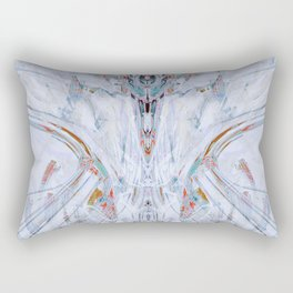 Abstract Anomaly [Emerald] Rectangular Pillow
