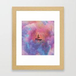 Do the Magic (colorful) Framed Art Print