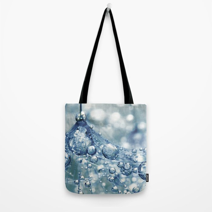 Sparkling Dandy in Blue Tote Bag
