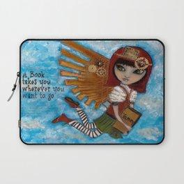 Renee the Book Fairy (Creepy Cutie Series) Laptop Sleeve