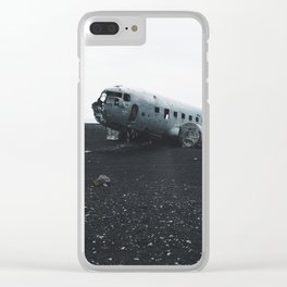DC-3 Wreck I Clear iPhone Case