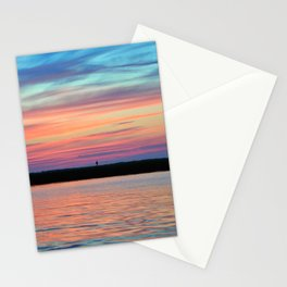 Cotton Candy Sunset II Stationery Cards