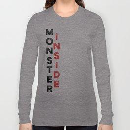 Monster Inside Long Sleeve T-shirt