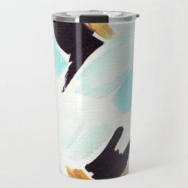 Twirl Aqua Travel Mug