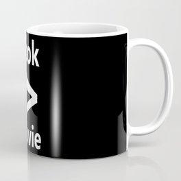 book > movie Coffee Mug