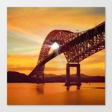 Pan-American Bridge Canvas Print