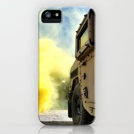 Yellow Smoke iPhone Case
